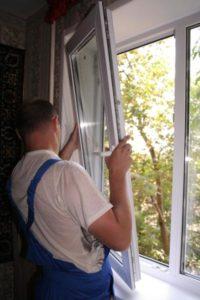Замена створок пластиковых окон в Курске