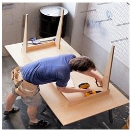Сборка столов по низким ценам в Курске от специалистов