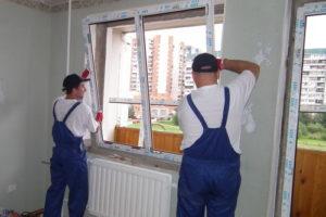 Установка пластиковых окон в Курске