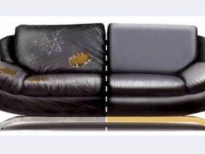 Перетяжка кожаного дивана в Курске