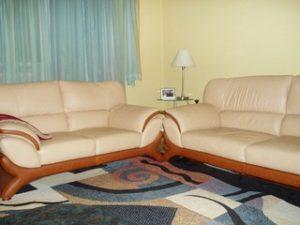 Перетяжка кожаной мебели в Курске